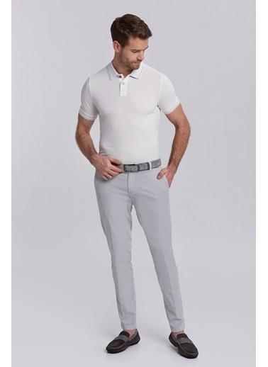 Hemington Vintage Görünümlü Polo Yaka T-Shirt Beyaz